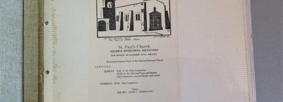 St Pauls Church – Construction 1965